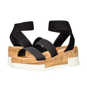 Steve Madden Bandi Women's Wedge Sandal NWOB 8